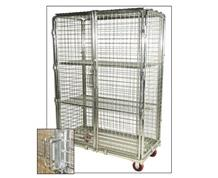 SECURITY CART WITH SHELF
