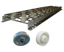 WHITE NYLON WHEEL CONVEYORS
